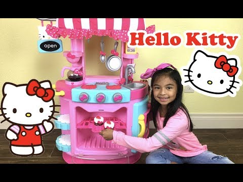 Hello Kitty Kitchen Cafe Unboxing | Toys Academy