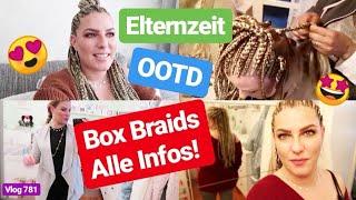 BOX BRAIDS! NEUEN HAARE! l Neuer Standesamt Termin l Elternzeit l Vlog 781
