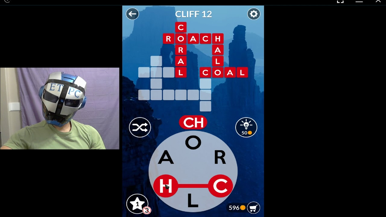 Wordscapes Cliff 12 Answers Masaya Ang Mga Salita Youtube