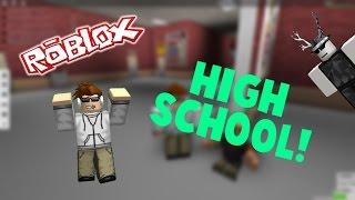 ROBLOX Shenanigans: High School Life-professor sujo