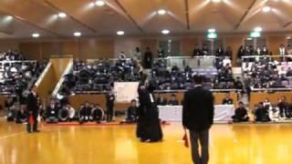中堅戦_杉森選手(環太平洋)vs今西選手(松大)