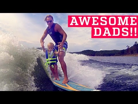 PEOPLE ARE AWESOME | Awesome Dads & Kids Edition (ft. OneRepublic) | Father † s Day