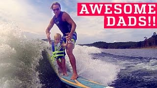 PEOPLE ARE AWESOME | Awesome Dads & Kids Edition (ft. OneRepublic) | Father's Day