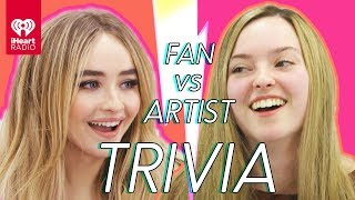 Sabrina Carpenter Challenges A Super Fan In A Trivia Battle | Fan Vs. Artist Trivia