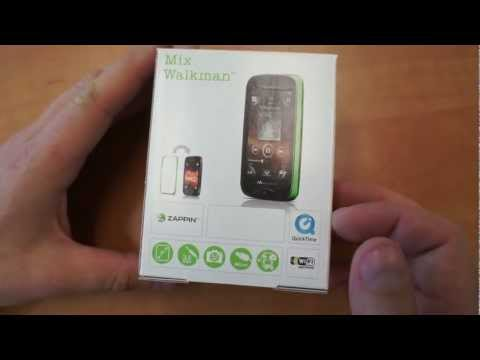 Sony Ericsson Mix Walkman Unboxing (rus.)