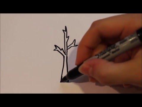 Cum Desenam Un Copac Pas Cu Pas