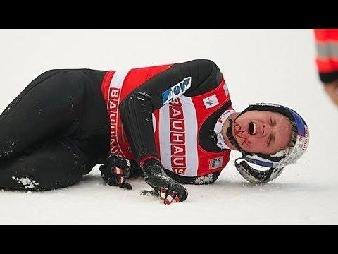 Thomas Morgenstern schwer gestürzt! - YouTube
