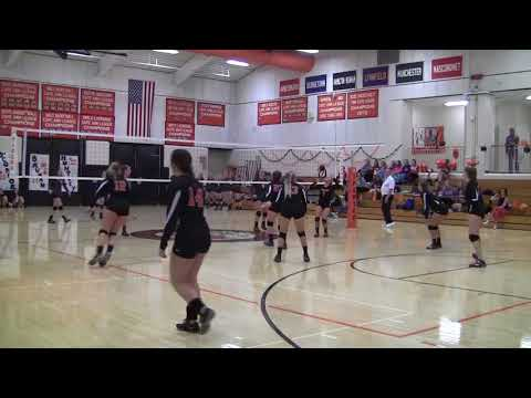 Girls Varsity Volleyball: Ipswich vs. Wakefield 10/27/17