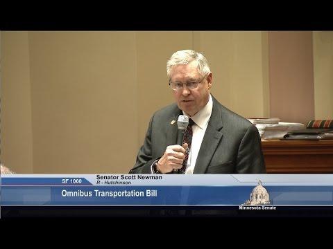 Transportation Plan Wins Senate Approval