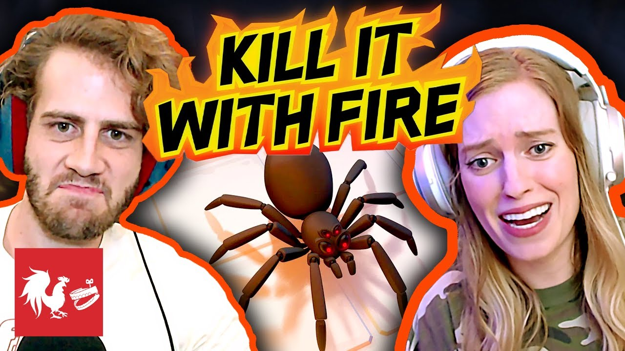 Barb's Spider Nightmare - Kill it With Fire | Turned On