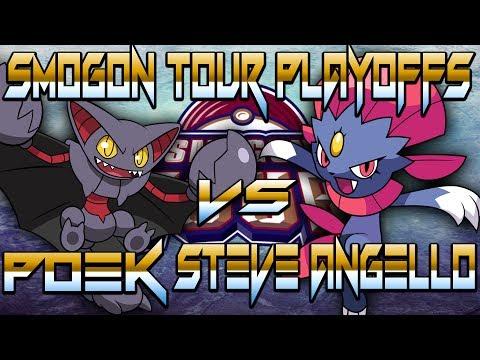 Smogon Tour 23 Play-offs - Round 1: Poek Vs Steve Angello [Game 2 ORAS OU] W/Ayevon,Patlop,Sedertz