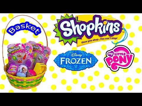 disney-frozen-surprise-mystery-blind-bag-shopkins-season-2-easter-basket-mlp-fash'ems-unboxing