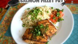 Salmon Fillet Fry Recipe