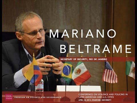 Mariano Beltrame, Secretary of Security, Rio de Janeiro, Brazil