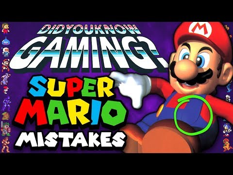 Mistakes In Mario Games - Did You Know Gaming? Feat. Dazz