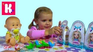 Кукла пупс с ароматом сюрпризы малыши и сестрички игрушки Yogurtinis doll unboxing surprise toys