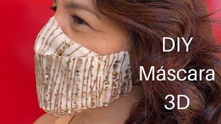 Como fazer Máscara 3D Fashion sem Elástico