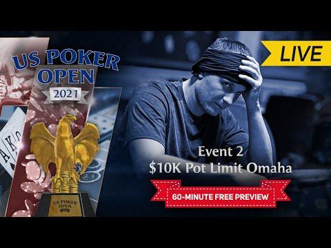 U.S. Poker Open 2021   Event #2 $10,000 Pot Limit Omaha Final Table