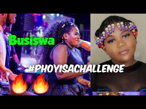 Busiswa joins phoyisa challenge | #phoyisachallenge #phoisa hamba no marphorisa