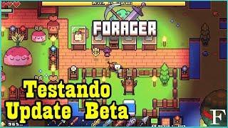 FORAGER - NOVO UPDATE(BETA) DESAFIO DE UMA ILHA SO - #3 PTBR