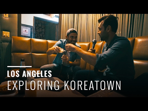 Korean BBQ & Karaoke in Los Angeles!