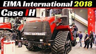 EIMA International 2018 - Case IH Tractors, Harvesters & More! - Quadtrac 540, Magnum, Maxxum 145