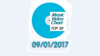 ClipNews Music Video Chart | Top 30 | 09, January, 2017