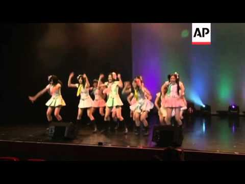 Saw-wielding man attacks two members of AKB48 at fan event in Japan