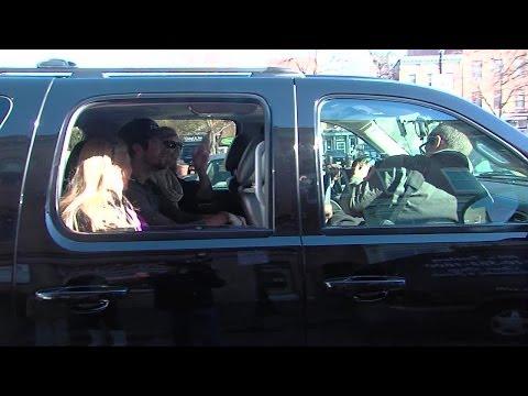 Justin Tucker rolls with Uber