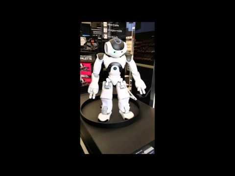 Sephora: Robo Flash begrüßt den Kunden