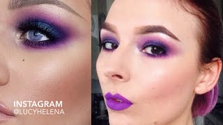 SMOKY PURPLE EYES | FAST FORWARD TUTORIAL Thumbnail