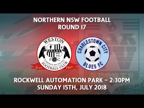 2018 NNSWF NPL Round 17 - Weston Workers Bears v Charlestown City Blues