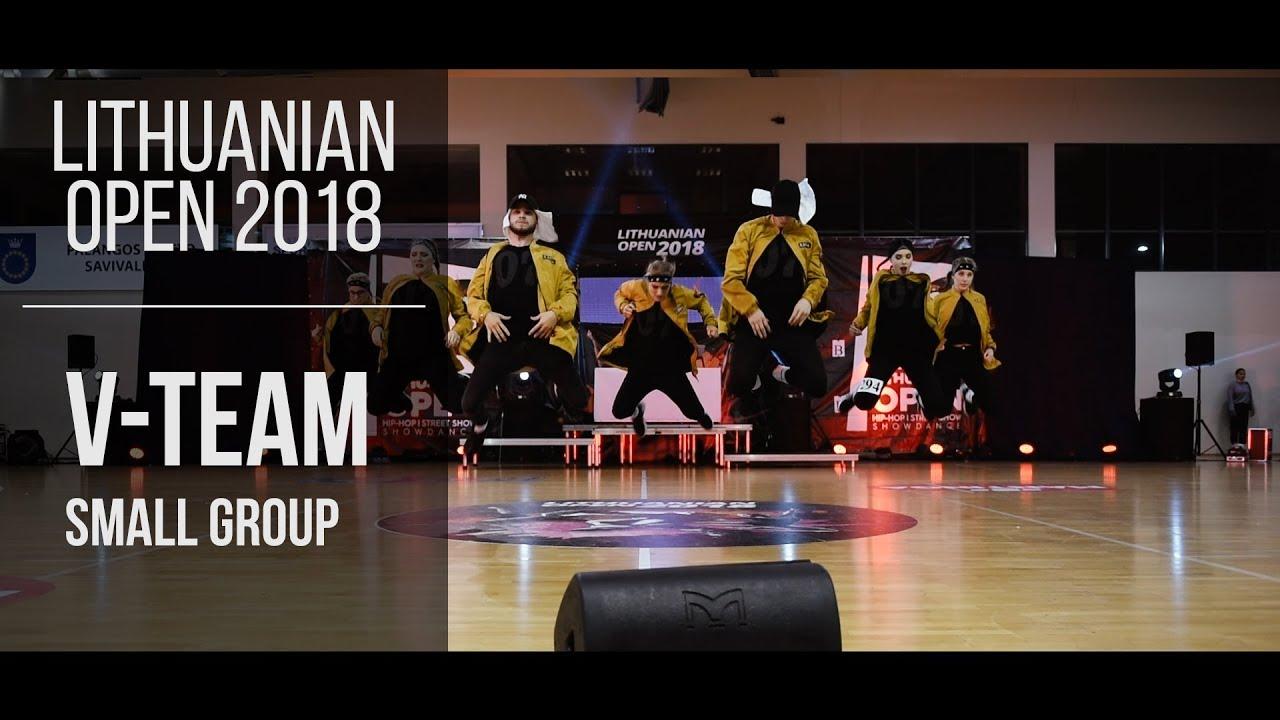Adults V-team small group | Lithuanian Open 2018 | Šokių Studija Me Gusta