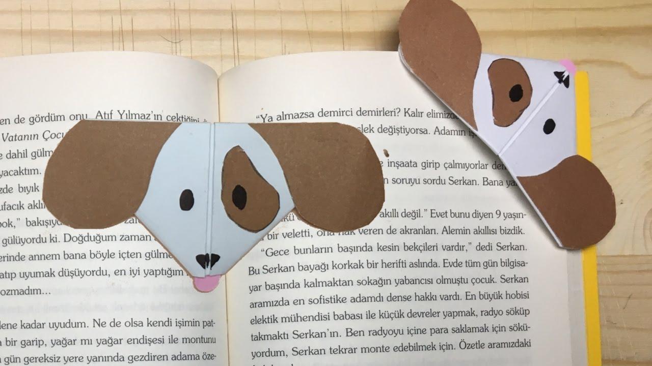 Sevimli Köpek Emoji Kitap Ayracı Nasıl Yapılır ?