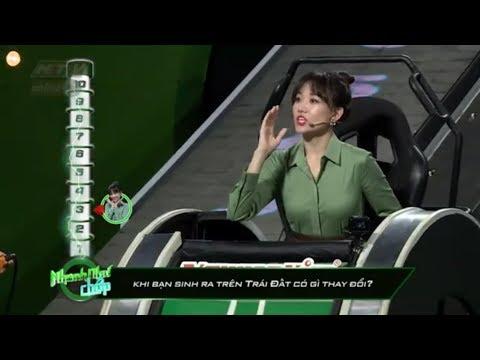 Hari Won lúng túng với tiếng Việt   NHANH NHƯ CHỚP   NNC tập cuối #42   26/1/2019
