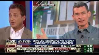 Sherrod Small and Andy Levy Go Panelling with Lou Dobbs!