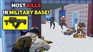 BEST START EVER!! 22 KILLS IN MILITARY BASE | PUBG Mobile Highlights