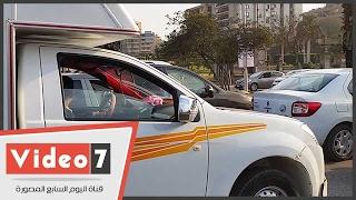 النشرة المرورية المسائية.. كثافات مرورية للسيارات بمحاور محافظة القاهرة