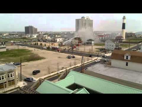 Atlantic City House fire captured on webcam! @AtlanticCity911