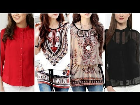 Top most beautiful Designed tops/ latest tops for woman/ latest rendom Fashion