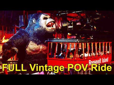 Kongfrontation FULL Vintage POV Ride 1996, Universal Studios Orlando, King Kong