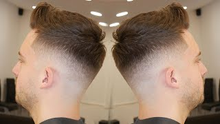 HAIRCUT TUTORIAL: HOW TO DO A TEXTURED QUIFF FOR BEGNNERS    FULL TUTORIAL