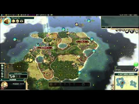 Civilization V. By Land & Sea (Anglo German Alliance) Episod