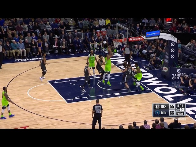 3eec867eb Karl-Anthony Towns has become a different kind of monster on the glass
