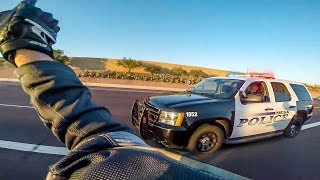 COOL & ANGRY  COPS  VS BIKERS | POLICE vs MOTORCYCLE |  [ Episode 145]