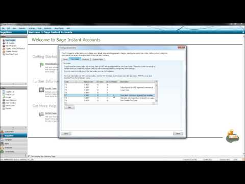 How to do a VAT Return on Sage - #1