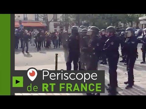 Nouvelle journée de mobilisation en France contre la Loi Travail 2/4 (Direct du 19.05.16)