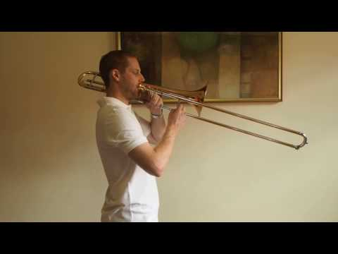 F Chromatic Scale - Trombone
