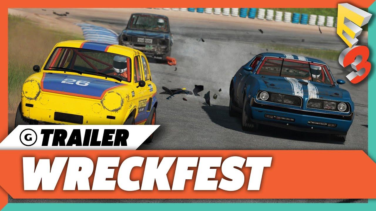 Wreckfest - E3 2017 Trailer