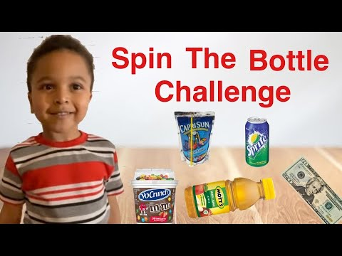 Spin the bottle challenge!!!!!!